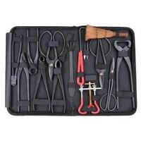 10pcs/set Carbon Steel Shear Garden Bonsai Pruning Tool Extensive Cutter Scissors Kit Home Garden Yard Tools