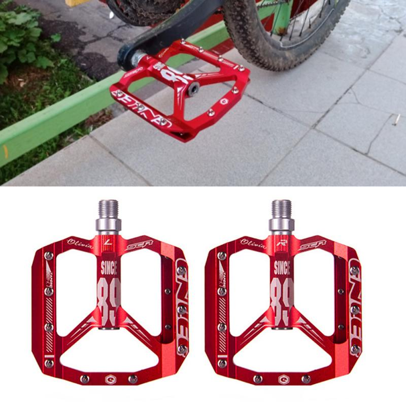 1 Pair Bearing Bike Ultralight Pedal MTB Cycling Mountain Bicycle Alloy Pedals