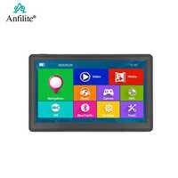 GPS para coche HD de 7 pulgadas para coche, navegación con Windows CE, Bluetooth, AVIN, pantalla capacitiva FM, 8GB/256MB, avan, vehículo, camión, GPS, Europa, Sat nav