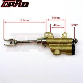 TDPRO Pie de cilindro maestro de freno trasero bomba de SSR Apollo IMR 50 90 110, 125 de 140 Pit 150 Cc de la bici de la suciedad para motocicleta Honda Magna 750