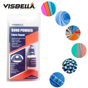 Image 4 - Visbella Bond Powder Fabric Pants Repairing Bonding Glue Denim Repair Waterproof Sealers for Clothing Carpets Curtains Tents