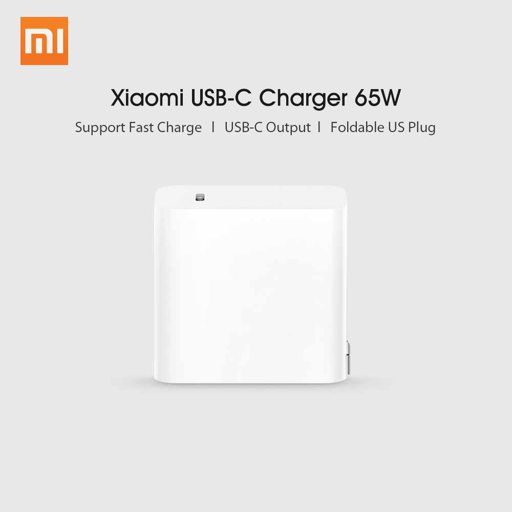 Image 5 - Xiaomi USB C Charger 65W Power Adapter With US Plug Mini Portable  Wall Travel Charger 100 240V For Phone Laptop NotebookMobile Phone  Chargers