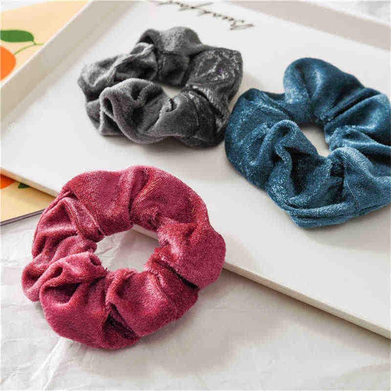 36 шт. женские бархатные Однотонные эластичные резинки для волос держатель для конского хвоста резинка для волос повязка на голову женские аксессуары для волос