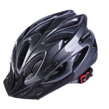 Bicycle Helmets Matte Black Men Women Cycling Helmet Back Light Mtb Mountain Road Bike Integrally Molded