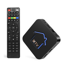 MyTV Smart Android 7.1 TV Box Amlogic S905X Profreeional Stalker with Iptv boxes Media Player недорого