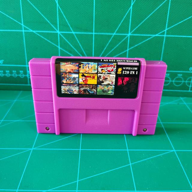 Super 120 in 1 Game Cartridge battery save With Zeldaed Ancient Stone Tablets Chapter 1 2 3 4 Dragon Game Ball Z Lagoon Ys III