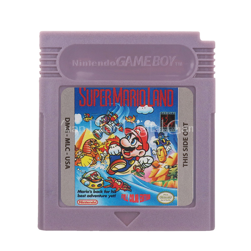 For Nintendo GBC Video Game Cartridge Console Card Super Mari Land English Language Version