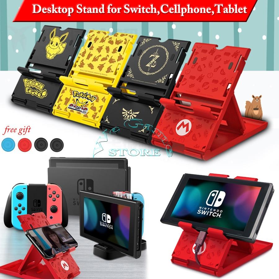 Nintendos консольный переключатель Nintendo подставка чехол Nintendoswitch перечисленные кронштейн для хранения держатель для Nitendo НС, мобильный телефон