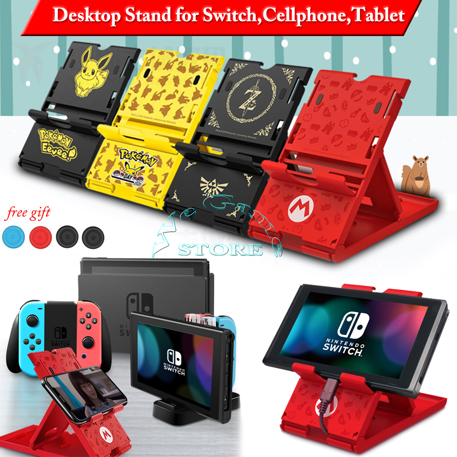 Nintendos Nintend Switch Console Stand Case Nintendoswitch Storage Bracket Holder for Nitendo NS Mobile Phone Tablet