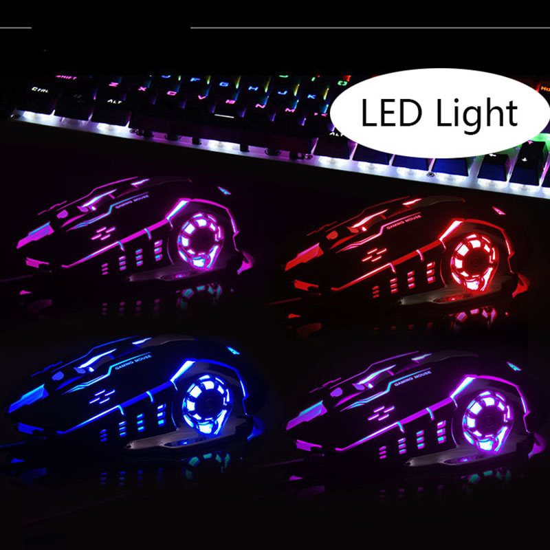 Image 5 - AULA Professional Macro Game Mouse Pro LED Wired Gaming Mouse for Pc Computer Laptop Mice Adjustable 3200 DPI Silent Mause Gamer-in Mice from Computer & Office