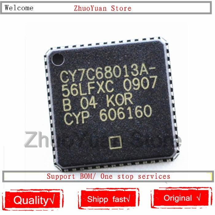 1PCS/lot New Original CY7C68013A-56LFXC CY7C68013A-56LTXC CY7C68013A CY7C68013 QFN-56 IC Chip