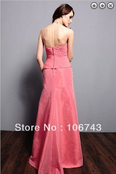 free shipping 2016 maxi dresses plus size vestidos formales weddings long sleeve mother of the bride gown dresses with jacket 4