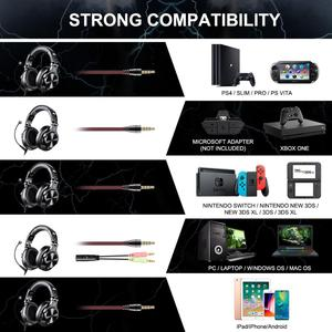 Image 3 - Oneodio A71 Professional DJ Headphones With Microphone Portable Wired Headset Music Share Lock Headphone For  Monitor