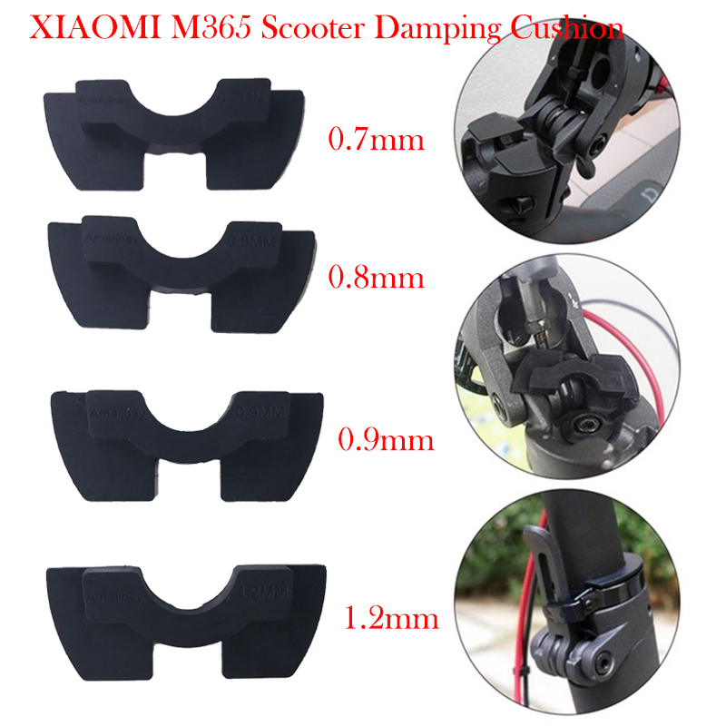 M365 Scooter Shake Reducers For XIAOMI M365 Electric Scooter Front Fork Avoid Damping Rubber Pad Folding Cushion For M365 Pro