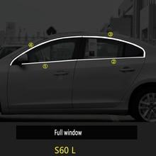 window trim strip Car Window Pillar Post Window Pillar Post Middle Column Strip Car body trim Sticke forVolvo XC60 S60 LV40 XC40