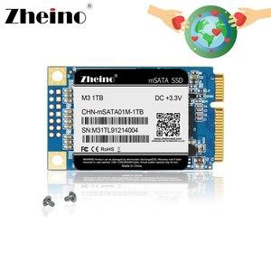 Zheino SSD mSATA3 120GB 240GB 480GB 128GB 256GB 512GB 1TB SSD Mini msata SSD TLC Internal Solid State Drive For Laptop Notebook