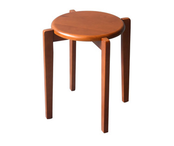 Solid wood stool home simple and stylish wooden stool living room dining room creative dining chair stool adult stool