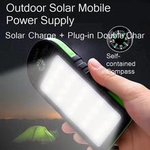 Vogek 10000mAh Solar Power Bank Waterproof Outdoor Charger 2