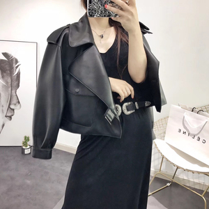 Image 5 - Genuine leather jacket women plus size sheepskin coat 2020 atutmn winter coats and jackets women casual female overcoat