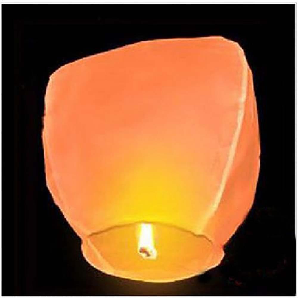 10 шт., мы ответим вам в самый быстрый бумажные фонарики желаний Fly лампы в форме свечи лампы для рождественской вечеринки Свадебные украшени...