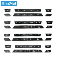 Quality Console Dashboard Ac Buttons Caps Replacement Repair Kit Set For BMW 5 7 Series F10 F18 F01 F02 520 523 525 530 730 740