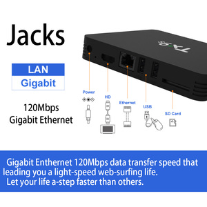 Image 3 - וtranspeed אנדרואיד אוקטה core טלוויזיה תיבת 4K Youtube 2GB 8GB ממיר 2.4G Wifi 4K לשחק חנות למעלה תיבה