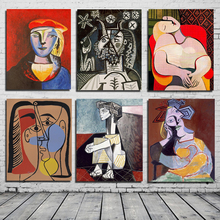 цены на Pablo Picasso Abstract Wall Art Canvas Painting Posters Prints Modern Painting Wall Pictures For Living Room Home Decoration HD  в интернет-магазинах