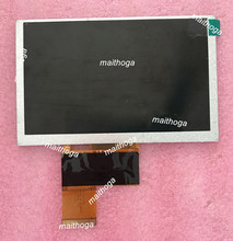Maithoga 5,0 pulgadas 40PIN HD TFT LCD MP4 MP5 pantalla común 800*480 WTF500CG40BG 00