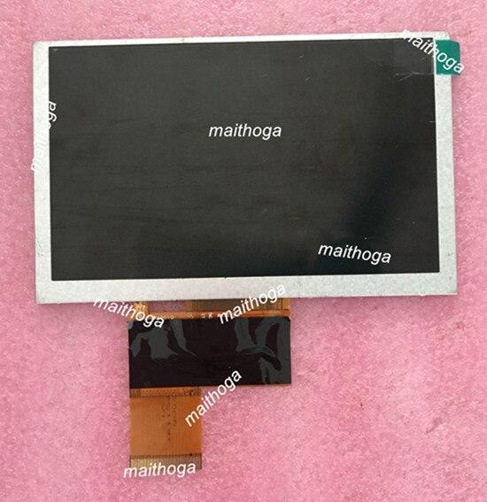 maithoga 5.0 inch 40PIN HD TFT LCD MP4 MP5 Display Common Screen 800*480 WTF500CG40BG 00