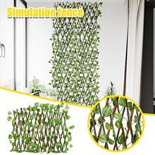 Clôture rétractable extensible, clôture de protection contre les UV pour plantes artificielles de jardin, pour usage intérieur et extérieur
