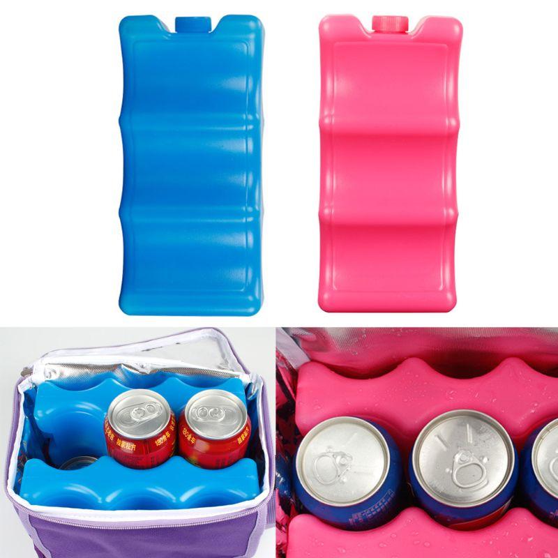 600ml Reusable Ice Brick Ice Block Ice Pack Cooler Milk Storage For Cooler Bag
