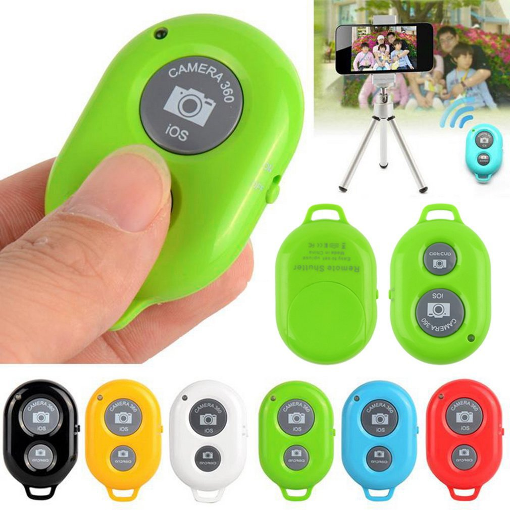 Wiereless Phone Self Timer Shutter Button For IPhone 7 Selfie Stick Shutter Release Wireless Remote Control