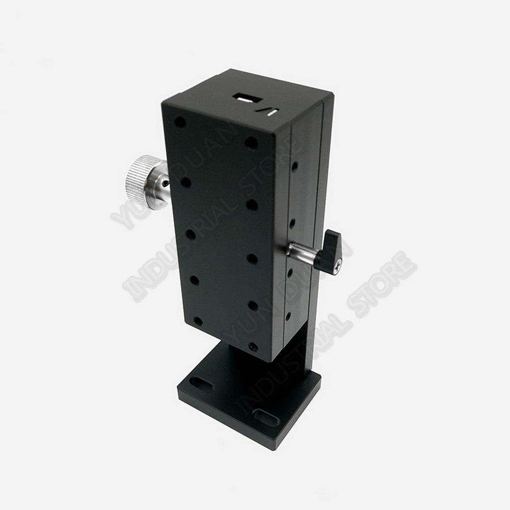 Lift Manual Precision Fine Tuning platform 30mm travel Z Axis 40*90MM Dovetail Groove Guide adjustment Optical Sliding lifting