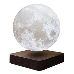 13 см светодиодный светильник netic Levitation с 3D принтом, ночник для спальни, подарок (штепсельная Вилка европейского стандарта)