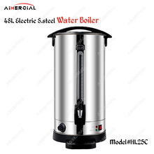 HL15A Stainless Steel commercial water boiler machine milk warmer boiler for coffee bar shop 6/8/10/12/16/20/30/35/48 Liters it10h 10l commercial energy saving electric water boiler water machine kettle automatic boiling for milk tea shop cafe