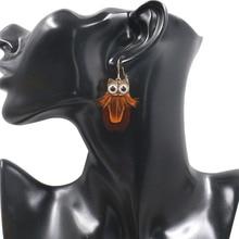 Tassel Dangle Long Earrings For Women Bohemian Owl Feather Earrings Brincos Jewelry Wedding Earrings Bride Jewelry innopes 2019 bohemian long unique women s earrings dangle earrings jewelry earrings