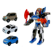Tobot 3 in 1 Transformation Toys Deformation Action Figure Merge Car Children Cartoon Animation Model Set [show z store] unique toys ut m 04 broodlord lashlayer blast off transformation action figure