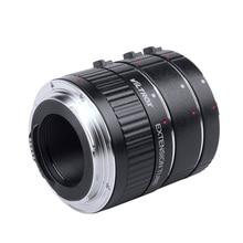 DG G Auto Focus AF TTL Extension Tube Ring 12mm 20mm 36mm Set Metall Halterung mit Abdeckungen für canon EF EF S Objektiv DSLR Kamera