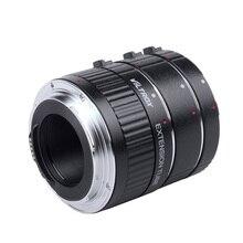 DG G otomatik odaklama AF TTL uzatma tüpü halka 12mm 20mm 36mm Set Metal montaj için kapakları ile canon EF EF S Lens DSLR kamera