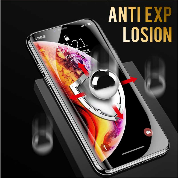 Protective Tempered Glass For Iphone 6/6s 7/7 Plus 8/ 8 Plus X Full Body Tempered Glass Film Screen Protector