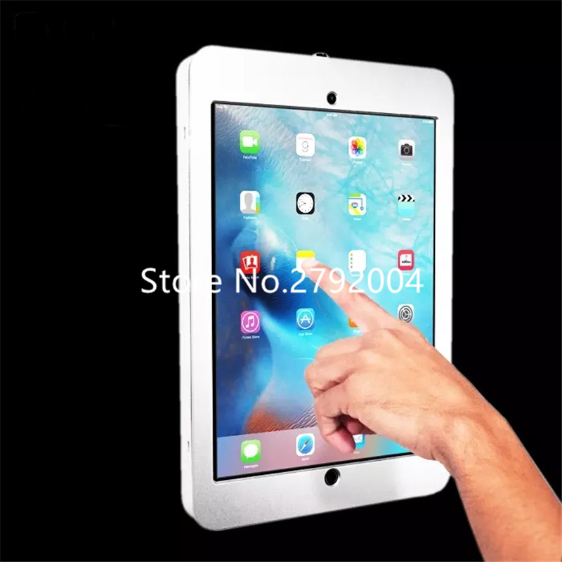 trade show tablet kiosk stand display for ipad pro 12.9 image