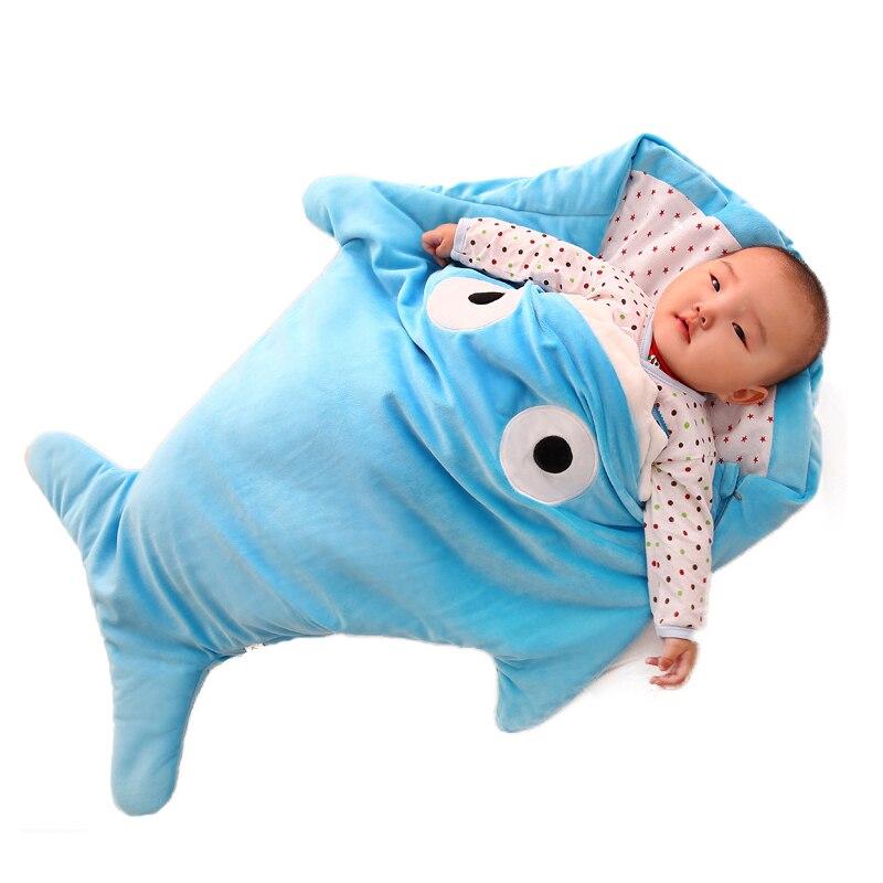 Autumn Winter Baby Swaddle Blankets Newborn Sleeping Wrap Bag Kick-proof Sleepsacks Boy Girls Soft Cotton Baby Bathrobe 0-16M