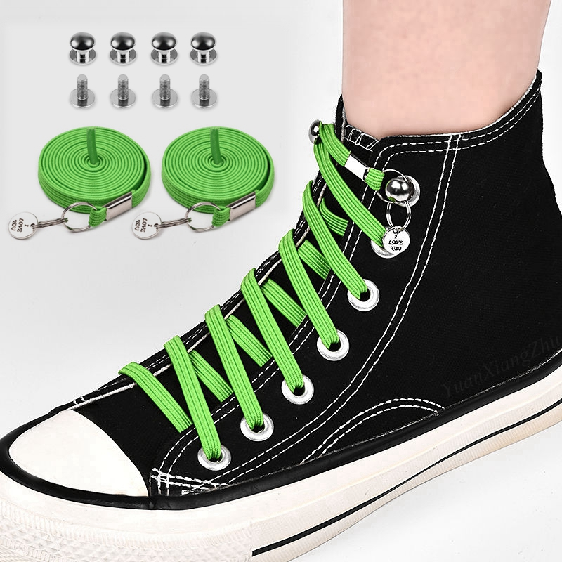 1Pair No Tie Shoelces For Chidren And Adults Quick One Hand Shoelace For Kids And Adult Sneakers Shoelace Quick Lazy Laces