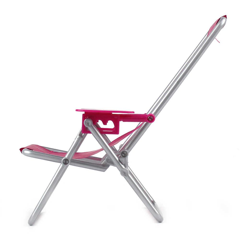 Boneca de plástico dobrável para cadeira, brinquedo educativo infantil para presente infantil
