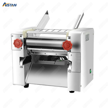 FKM300 Electric Dough Roller Stainless Steel Dough Sheeter Noodle Pasta Dumpling Maker Machine 220V Roller and Blade Changable 2
