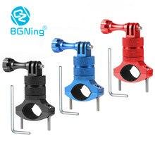 BGNing bisiklet dağı dönebilen bisiklet gidon dağı tutucu adaptörü braketi Gopro Hero 5 6 7 SJ6000 Xiaoyi2 eylem kamera