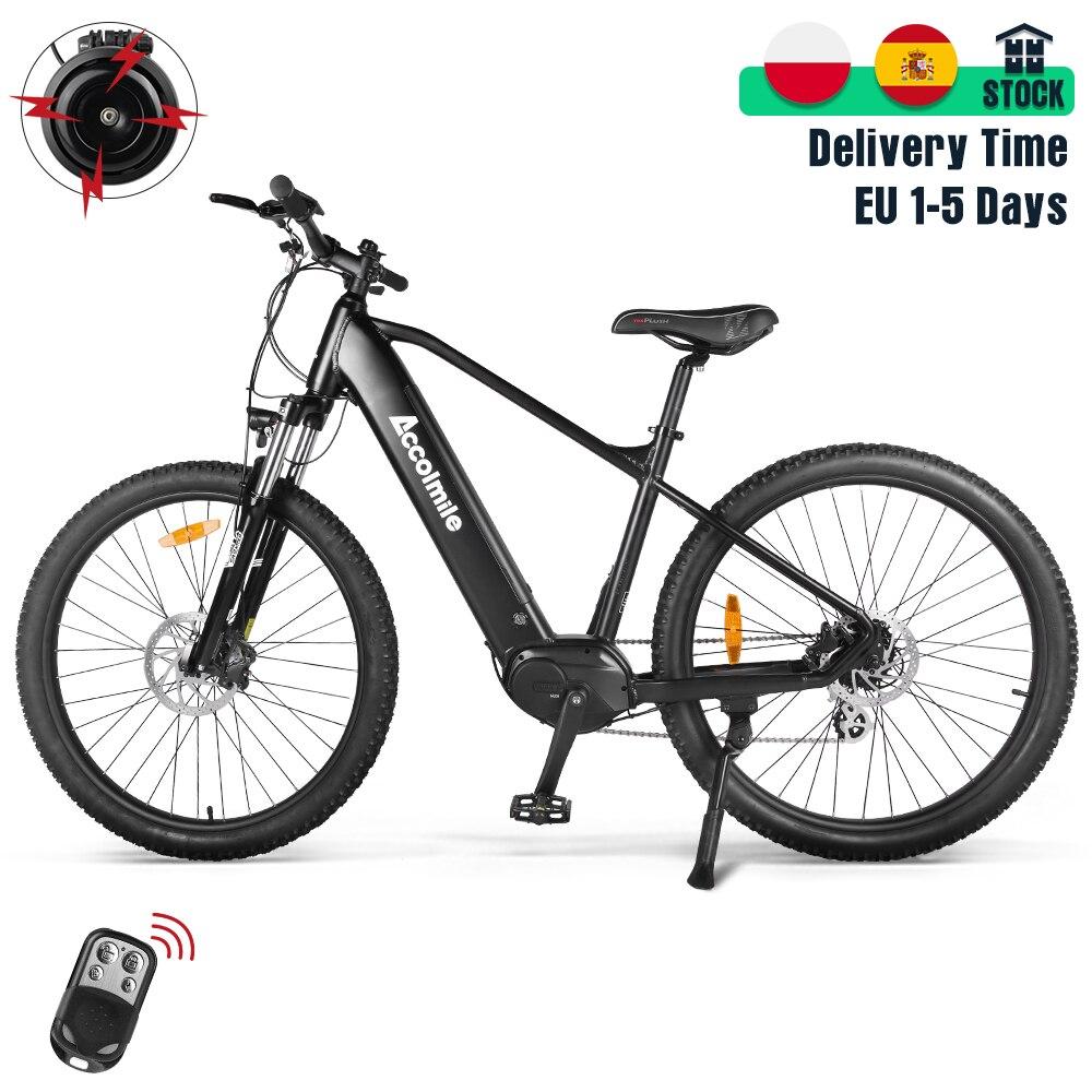Электрический горный велосипед, 27,5 дюйма, 140 км, долгий срок службы, мощный велосипед с датчиком крутящего момента, Электрический городской ...