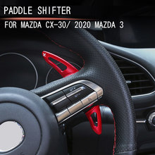 Steering wheel paddle shift lever extension lever apply to For Mazda CX30CX-30 2019 2020 AXELA 2020