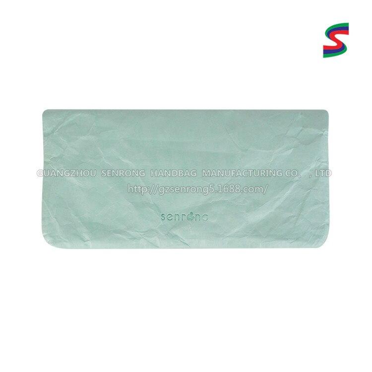 New Style DuPont Paper Handbag Tear Rotten Paper Bag Tyvek Zipper Bag Manufacturers Customizable