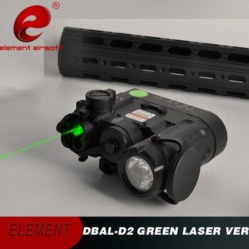 Элемент страйкбол DBAL-D2 ИК лазер зеленый лазер 2019 версия светодиодный фонарик DBAL-EMKII тактический фонарь DBAL D2 оружие Свет EX454